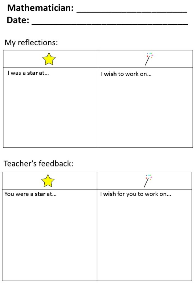 Stars and Wishes Template