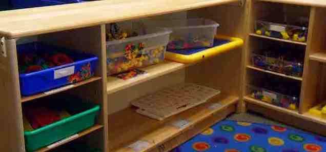 toy shelf