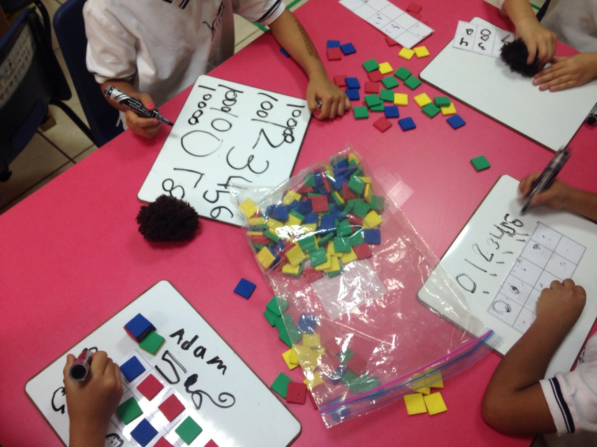 Kinder Garden: Open-Ended Math Centers